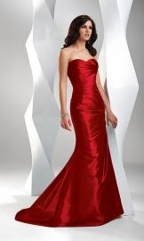 AF 1389 bordeaux rode trouwjurk