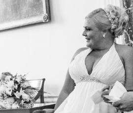 bruidsjurk van Monique