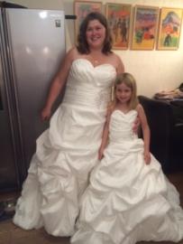 Sissi jurken van Francina en dochter