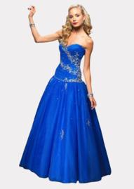AF 1237 royalblauwe trouwjurk