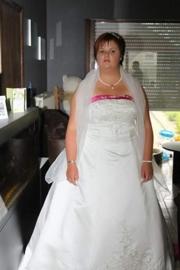 Bruidsjurk van Lindsey Voorons