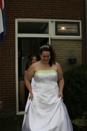 vervolg trouwjurk van Esmee