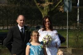 Sissi trouwjurk van Diana