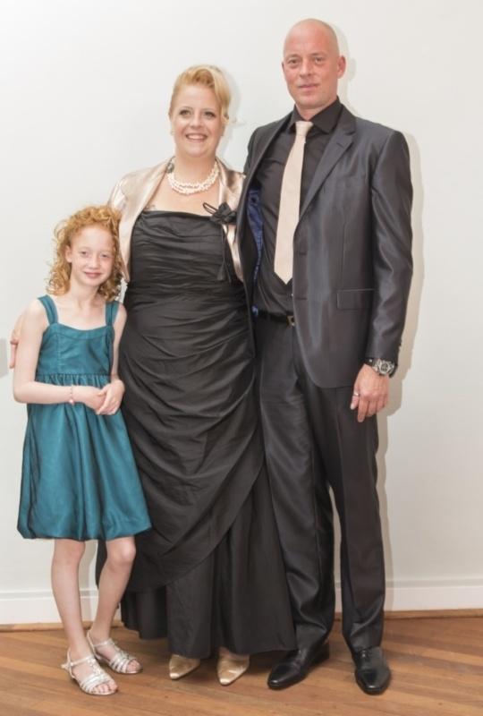 12.5- jarig trouwjubileum van Mariëlla & partner