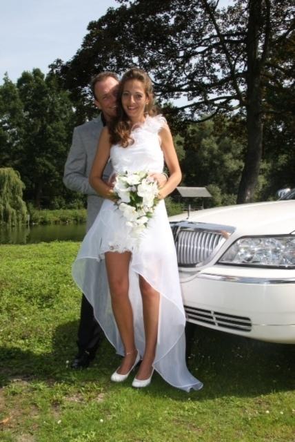 korte trouwjurk van Henderickx Shanna