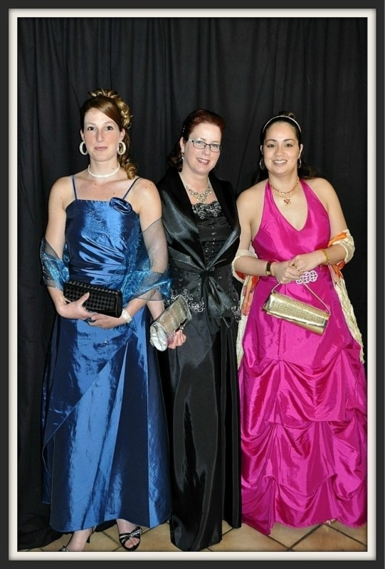 galajurken van Pauline, Ghislaine en Aricia
