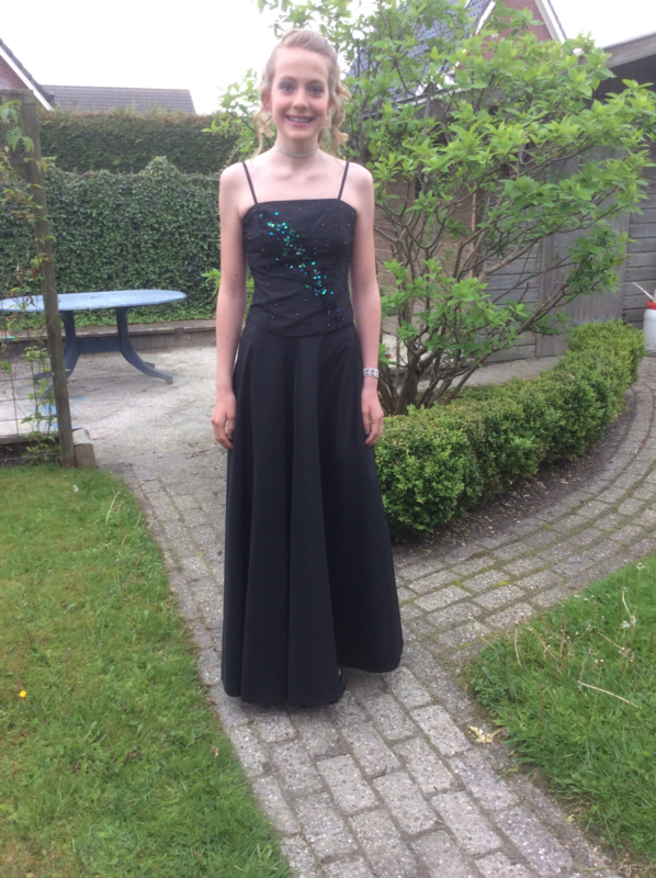 Schoolgala jurk dochter van Joanka