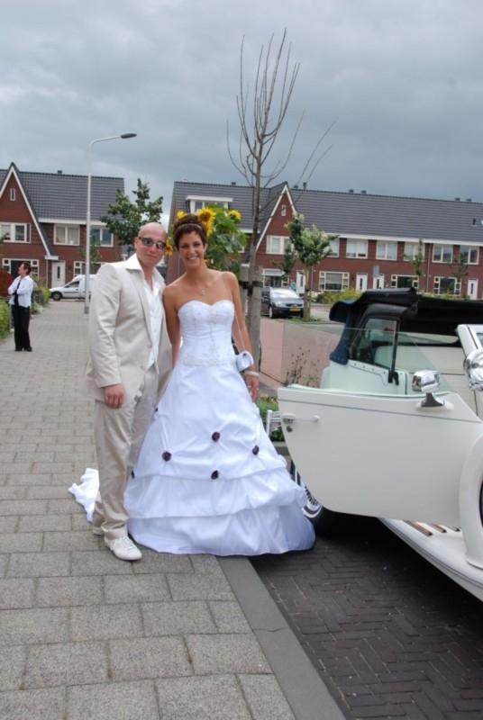 Bruidsjurk van Stephanie