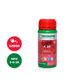 Bionova K20% Kalium 250 ml