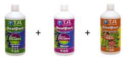 Terra Aquatica DualPart® Grow Hard water + Bloom + Ripen 1 liter
