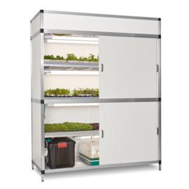 Meerlaagse kweekkast voor groenten kruiden en microgreens