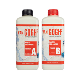 Van Goghs - Master Soil / Aarde Flower A + B - 1 liter Combipack