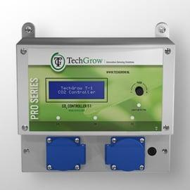TechGrow T-1 Pro CO2 controller, compleet met S-2 CO2 sensor