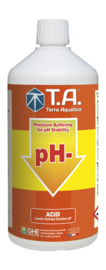 Terra Aquatica pH - / GHE pH Down 0,5 liter