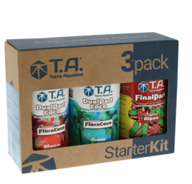 Terra Aquatica DualPart® Coco / GHE FloraCoco® StarterKit