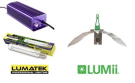 LUMATEK HPS 600 watt set + LUMii MAXii Reflector