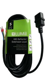 LUMii C14 aansluit kabel  5 Meter