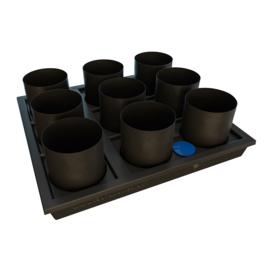 AutoPot Auto9 Smartpot Tray Systeem 9 potten