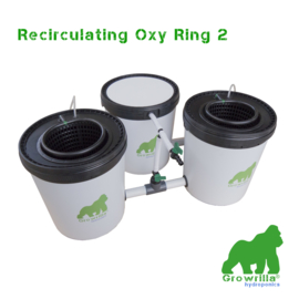 Growrilla Hydroponics  Recirculating Oxy Ring 2