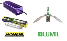 LUMATEK HPS 250 Watt set + LUMii MAXii Reflector