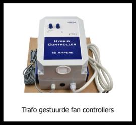 Trafo gestuurde fan controllers