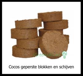 Cocos Geperste blokken en schijven