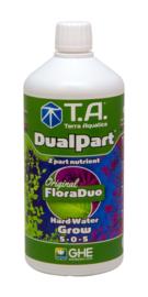 Terra Aquatica DualPart® Grow / GHE FloraDuo® Grow Hard water 0,5 liter