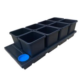 AutoPot Auto8 Tray 15L potten systeem