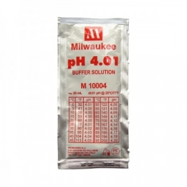 Milwaukee IJkvloeistof pH 4,01 20ml