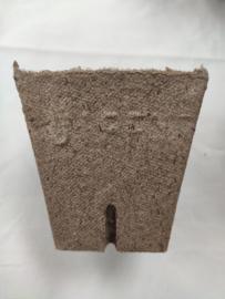 Jiffy / Turf Pot vierkant 8x8 cm