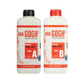 Van Goghs - Master Hydro / Coco Grow A + B - 1 liter Combipack