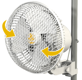 Secret Jardin Monkey Fan Oscillerende 20W - Ø21cm
