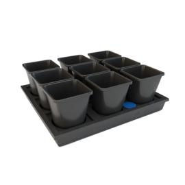AutoPot Auto9 25L XL Tray Systeem 9 potten