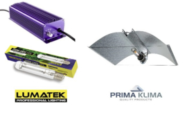 LUMATEK HPS 250 Watt set + Azerwing reflector