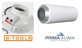 G-Tools GT160 met fancontroller met Filter PK-K2603 800m³