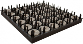 Jiffy Plug 50x95mm Jumbo Tray van 36