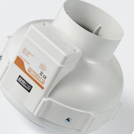 Buisventilator G-tools 125 1-speed 400m3/uur