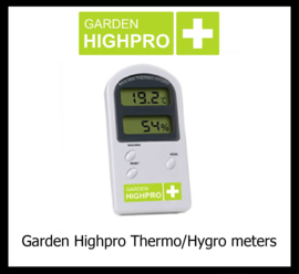 Garden HighPro Thermo & Hygro Meters