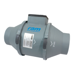 RAM Mixed-flow Inline Fan 100mm