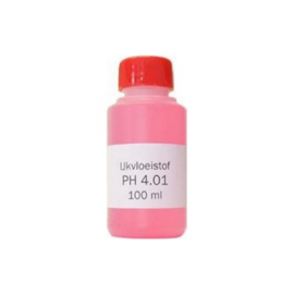IJkvloeistof pH 4.01 Fles 100ML