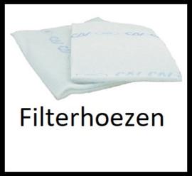 Filterhoes voor koolstoffilters