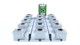 ALIEN® RDWC 15 Pot 36L PRO Silver Series