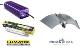 LUMATEK HPS 400 watt set + Azerwing reflector