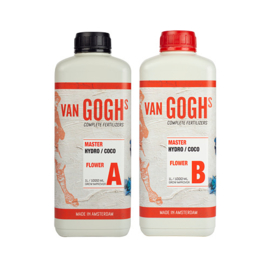 Van Goghs -Master Hydro / Coco Flower A + B - 1 liter Combipack