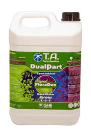 Terra Aquatica DualPart® Grow / GHE FloraDuo® Grow Hard water 5 liter