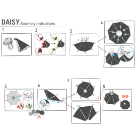 Daisy Reflector E40 Ø100cmx60cm EU & UK