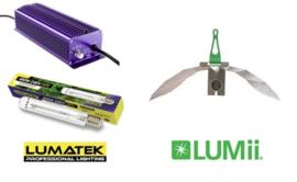 LUMATEK HPS 400 Watt set + LUMii MAXii Reflector