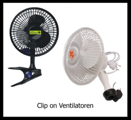 Clip-on ventilatoren