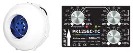 PK125 EC-TC 680 m3 Buisventilator