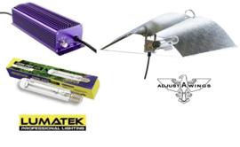 LUMATEK HPS 1000 Watt set + Wing Large reflector
